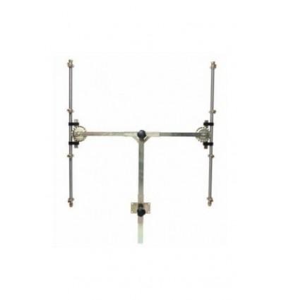 Barra en T 4+4 sin Pulverizadores con Módulo Antigota