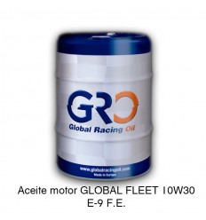 Aceite motor GLOBAL FLEET 10W30 E-9 F.E.