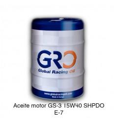 Aceite motor GS-3 15W40 SHPDO E-7