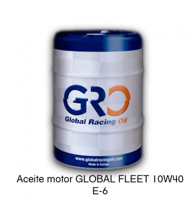 Aceite motor GLOBAL FLEET 10W40 E-6
