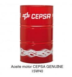 Aceite motor CEPSA GENUINE 15W40