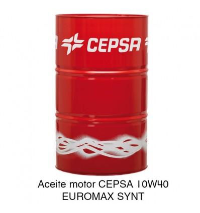Aceite motor CEPSA 10W40 EUROMAX SYNT