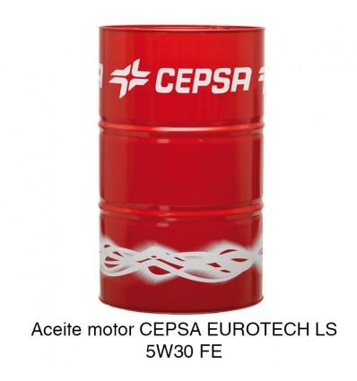 Aceite motor CEPSA EUROTECH LS 5W30 FE