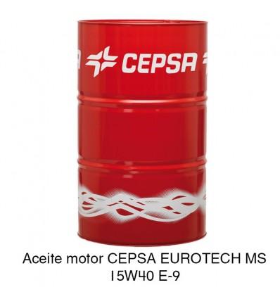 Aceite motor CEPSA EUROTECH MS 15W40 E-9
