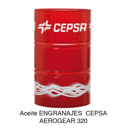 Aceite ENGRANAJES CEPSA AEROGEAR 320