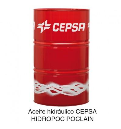 Aceite hidráulico CEPSA HIDROPOC POCLAIN