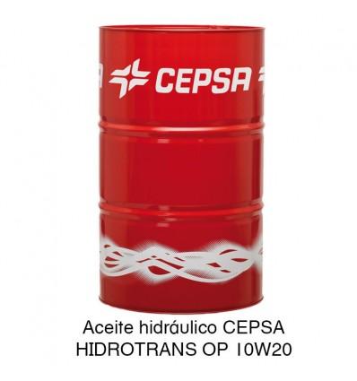 Aceite hidráulico CEPSA HIDROTRANS OP 10W20