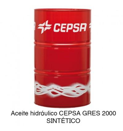 Aceite hidráulico CEPSA GRES 2000 SINTÉTICO