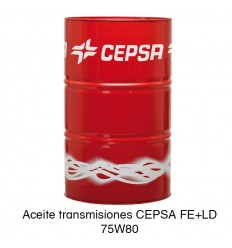 Aceite transmisiones CEPSA FE+LD 75W80