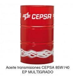 Aceite transmisiones CEPSA 85W140 EP MULTIGRADO
