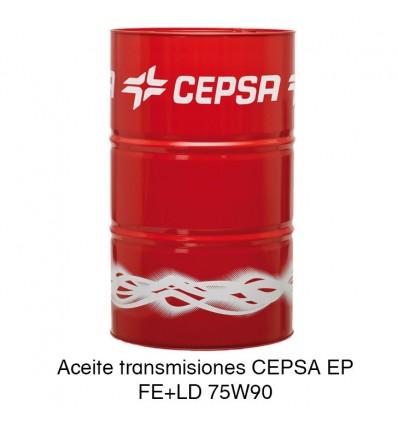 Aceite transmisiones CEPSA EP FE+LD 75W90