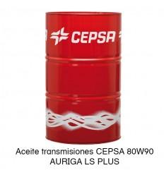 Aceite transmisiones CEPSA 80W90 AURIGA LS PLUS