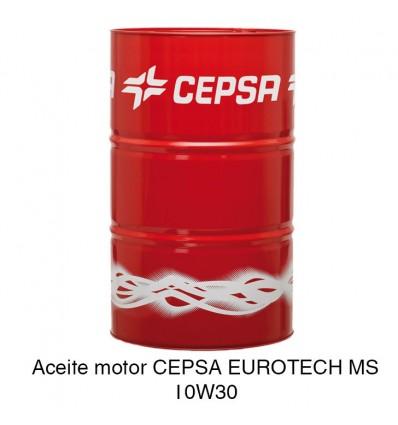 Aceite motor CEPSA EUROTECH MS 10W30