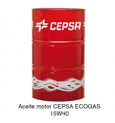 Aceite motor CEPSA ECOGAS 15W40