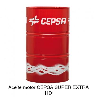 Aceite motor CEPSA SUPER EXTRA HD