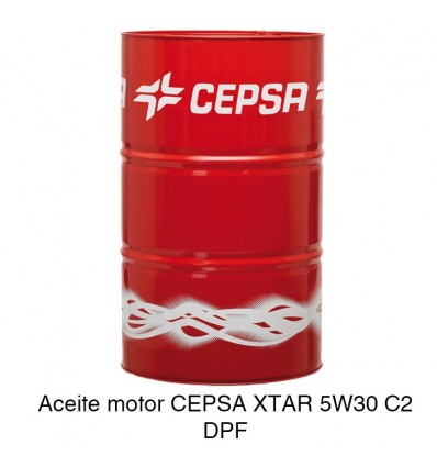 Aceite motor CEPSA XTAR 5W30 C2 DPF