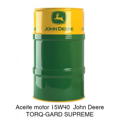 Aceite motor 15W40 John Deere TORQ-GARD SUPREME