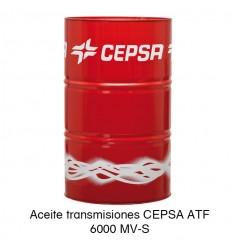 Aceite transmisiones CEPSA ATF 6000 MV-S