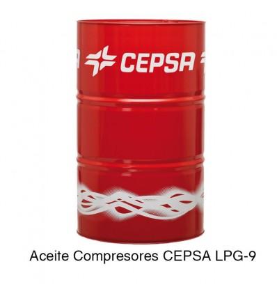 Aceite Compresores CEPSA LPG-9
