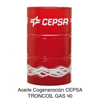 Aceite Cogeneración CEPSA TRONCOIL GAS 40