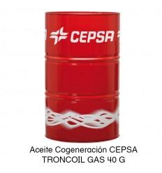 Aceite Cogeneración CEPSA TRONCOIL GAS 40 G