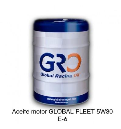 Aceite motor GLOBAL FLEET 5W30 E-6