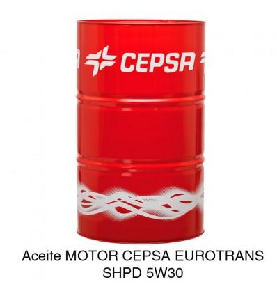 Aceite motor CEPSA EUROTRANS SHPD 5W30