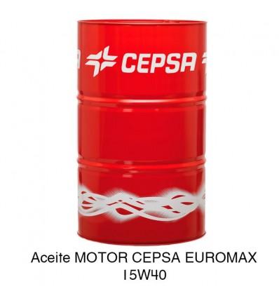 Aceite motor CEPSA EUROMAX 15W40