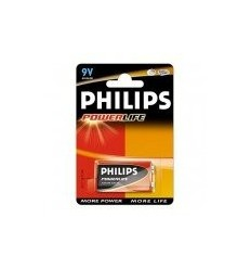 PILA 6LR61 PHILIPS ALCALINA 9V