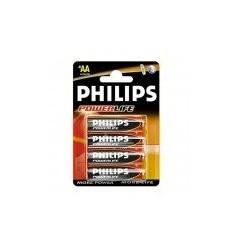 PILA LR6 AA PHILIPS ALCALINA 1,5V