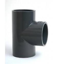 Te PVC 90º Encolar