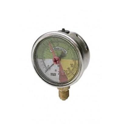 "Manómetro Glicerina Isométrico Inoxidable 63 mm 1/4"""