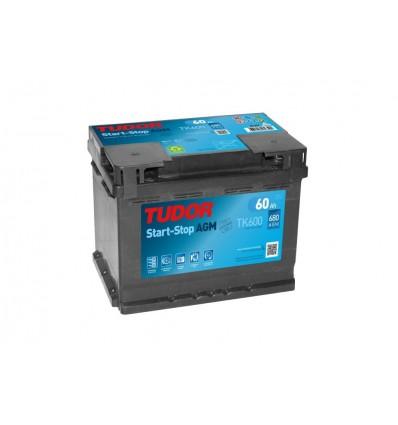 Batería START&STOP AGM TUDOR TK600