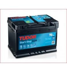 Batería START&STOP AGM TUDOR TK700