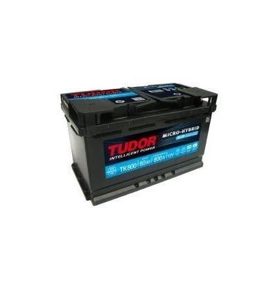 Batería START&STOP AGM TUDOR TK800