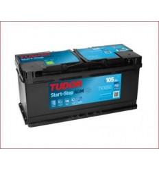 Batería START&STOP AGM TUDOR TK1050