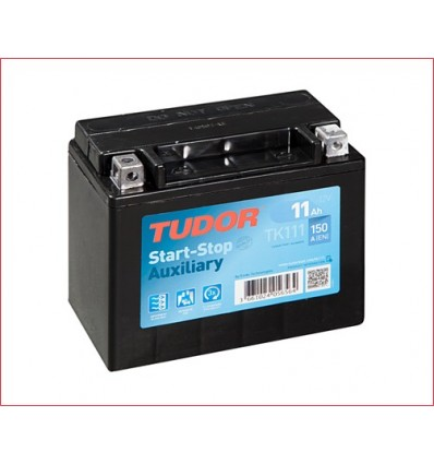 Batería auxiliar START&STOP TUDOR TK111