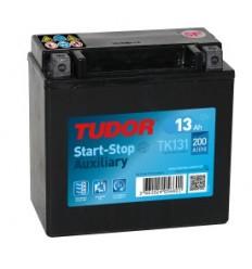Batería auxiliar START&STOP TUDOR TK131