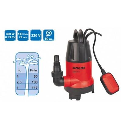 Bomba Sumergible SUB DRAIN-VORT 400 A - Aguas Limpias y Sucias