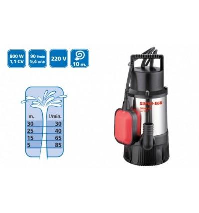 Bomba Sumergible MULTISUB 800 A INOX - Aguas Limpias