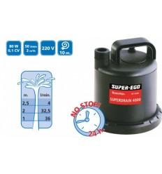 Bomba Sumergible SUPERDRAIN 3000 - Aguas Limpias